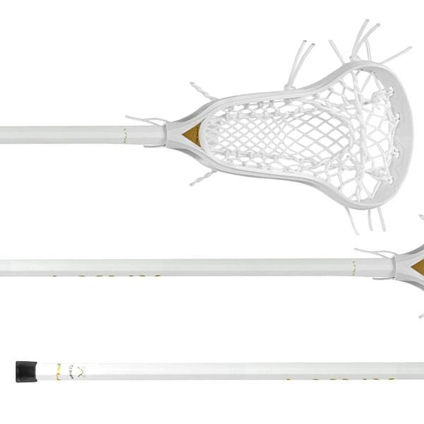 TRUE Complete Sticks White True LYNX Complete Women's Lacrosse Stick with Ignition Runner from Lacrosse Fanatic