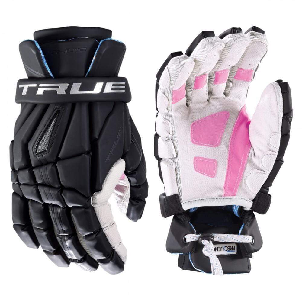 True Frequency Driver Face Off Lacrosse Glove with Gecko Grip