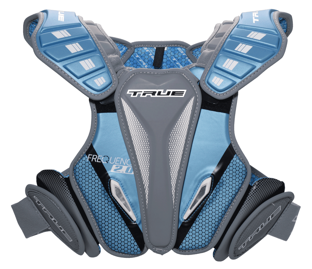 True Frequency 2.0 Hybrid Lacrosse Shoulder Pads