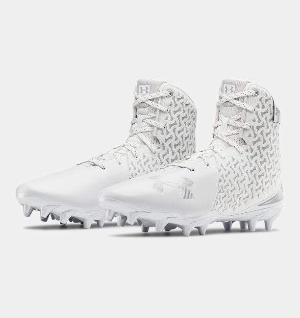 2020 Under Armour Lacrosse Highlight MC Womens Cleat - White