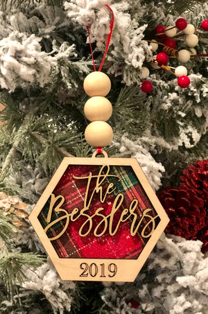 Family Name Ornament