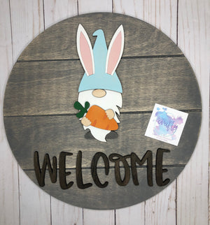 Open image in slideshow, Gnome Holiday Interchangeable Sign