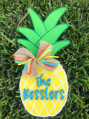Pineapple Door Hanger DIY Kit