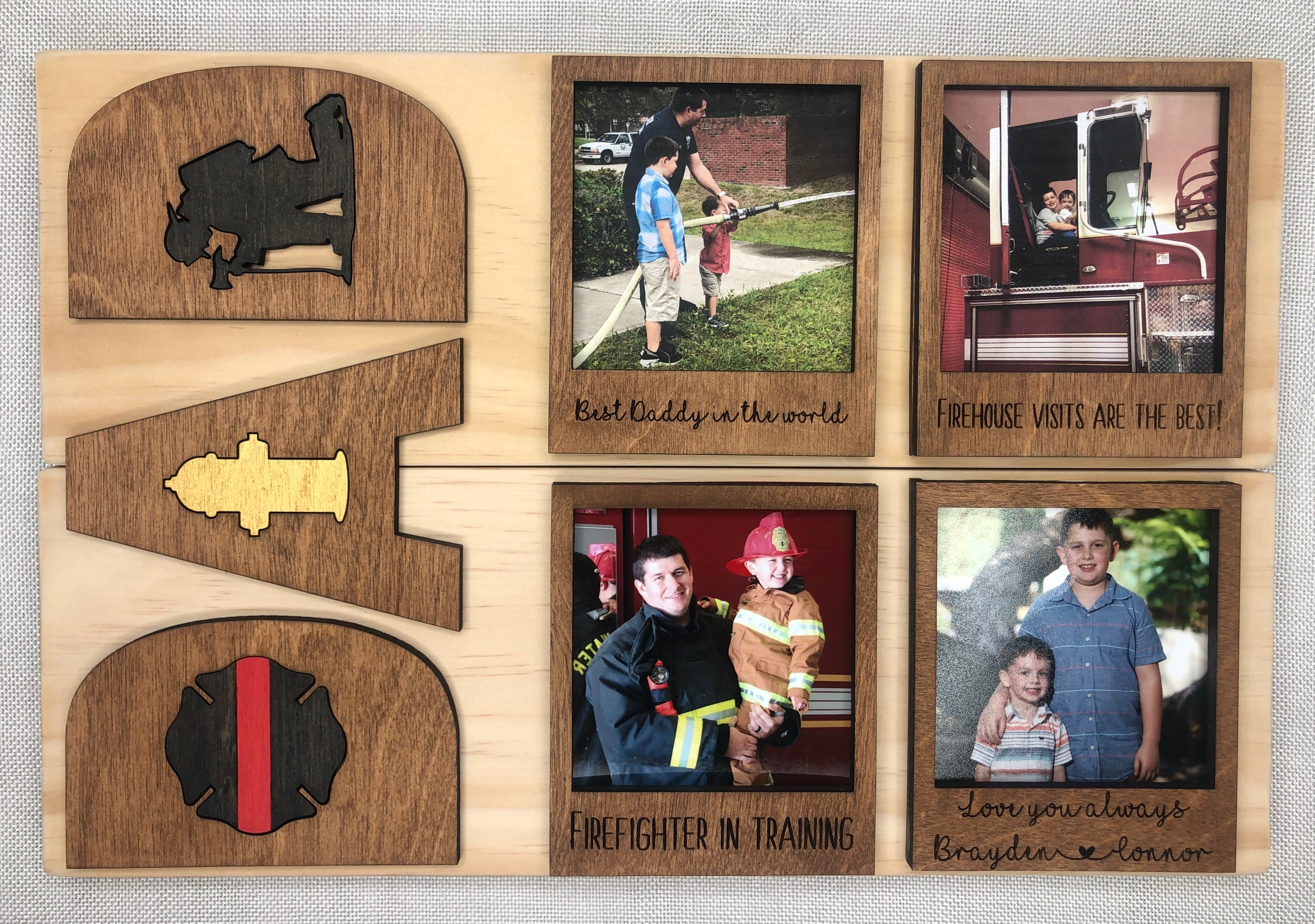 """DAD"" Planked Sign (Ready To Gift)"