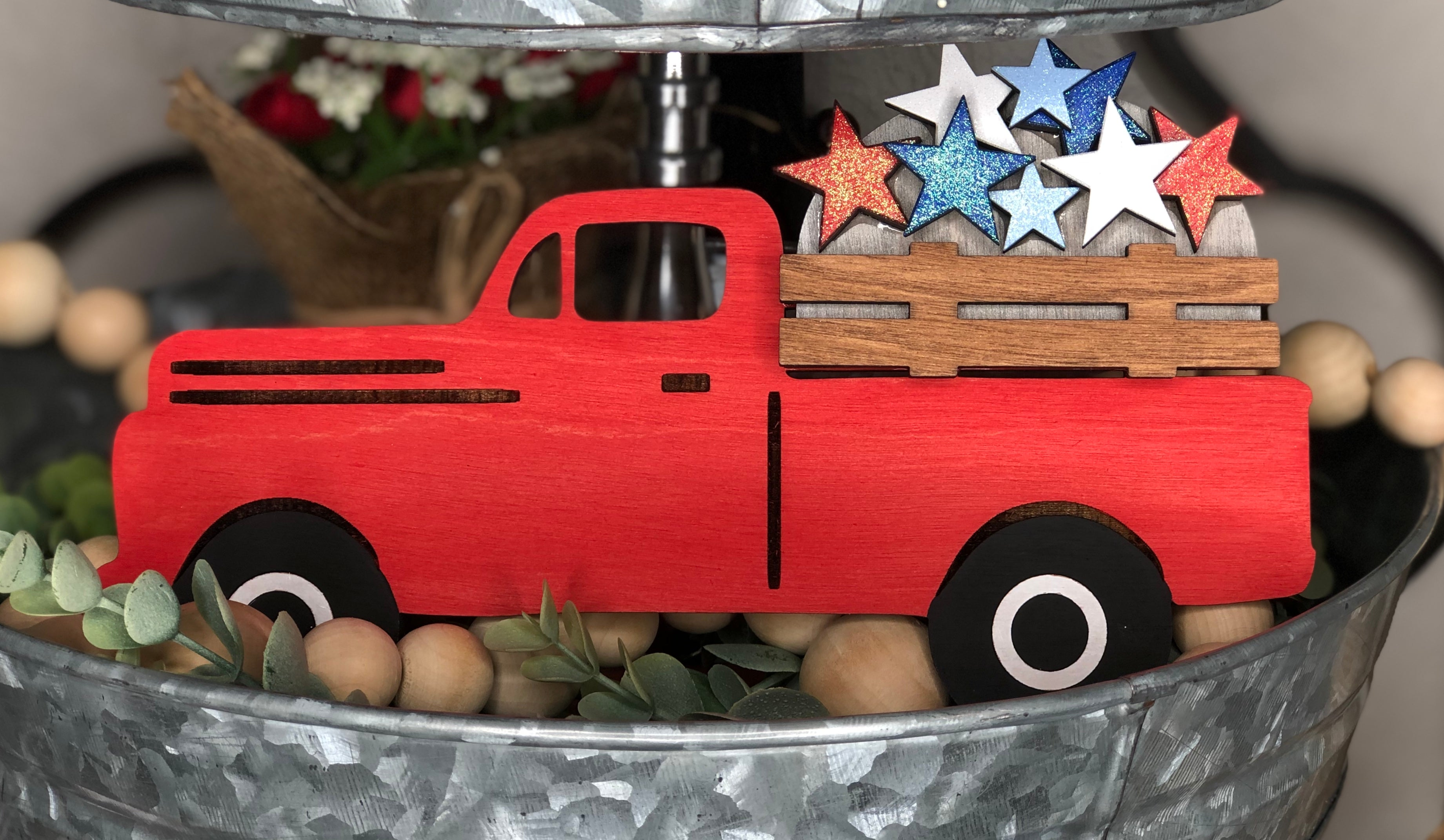 Double Sided Holiday Truck DIY Kit