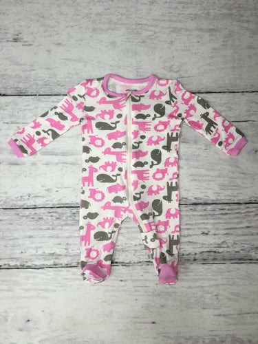 Rosie/Dove Wild by Nature Bamboo Footies