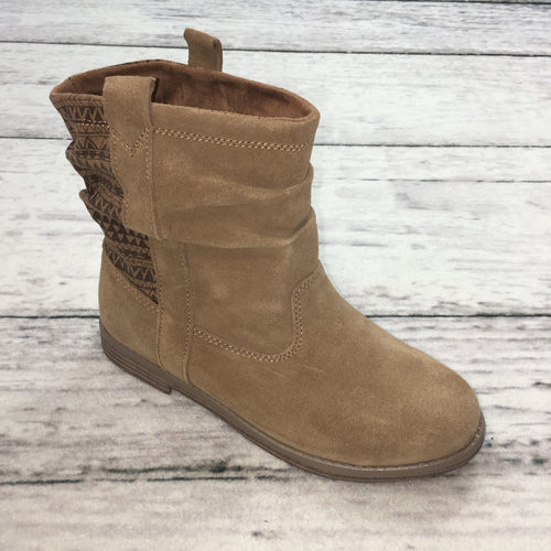 Toms Laurel Toffee Suede/Mud Hut Boot