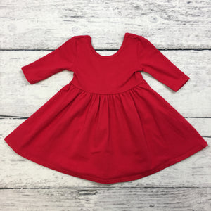 Red Twirl Dress