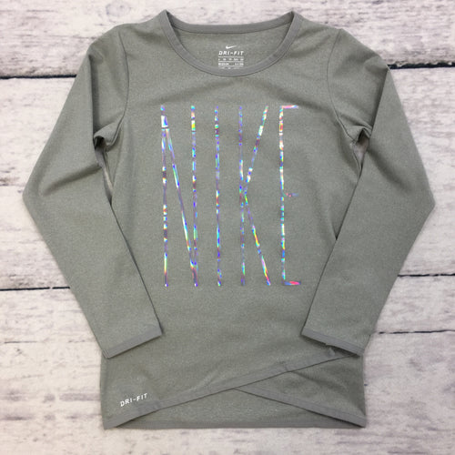 Dark Grey Heather Drifit Top