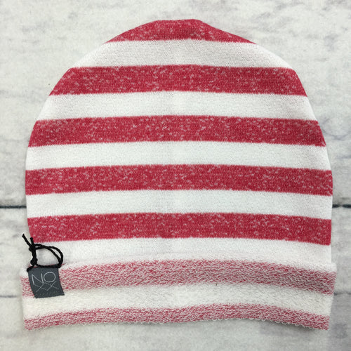 Red Stripes Lightweight Slouchy Hipster Beanie