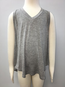Heather Grey Rayon Tank