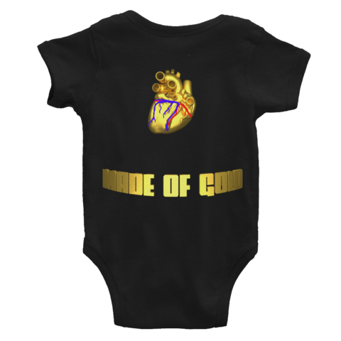 New Additions - #heart made of gold onesie(front&back) ByJackson