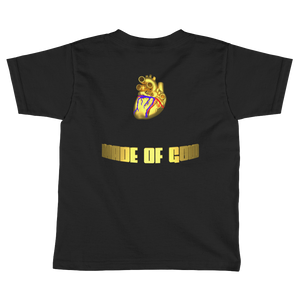 HEART MADE OF GOLD Adult Ladies Tee Shirt (FRONT&BACK) ByJackson - ByJackson