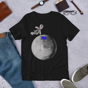 Mr. Moo The Cow Jumped  Over The Moon T-Shirt ByJackson
