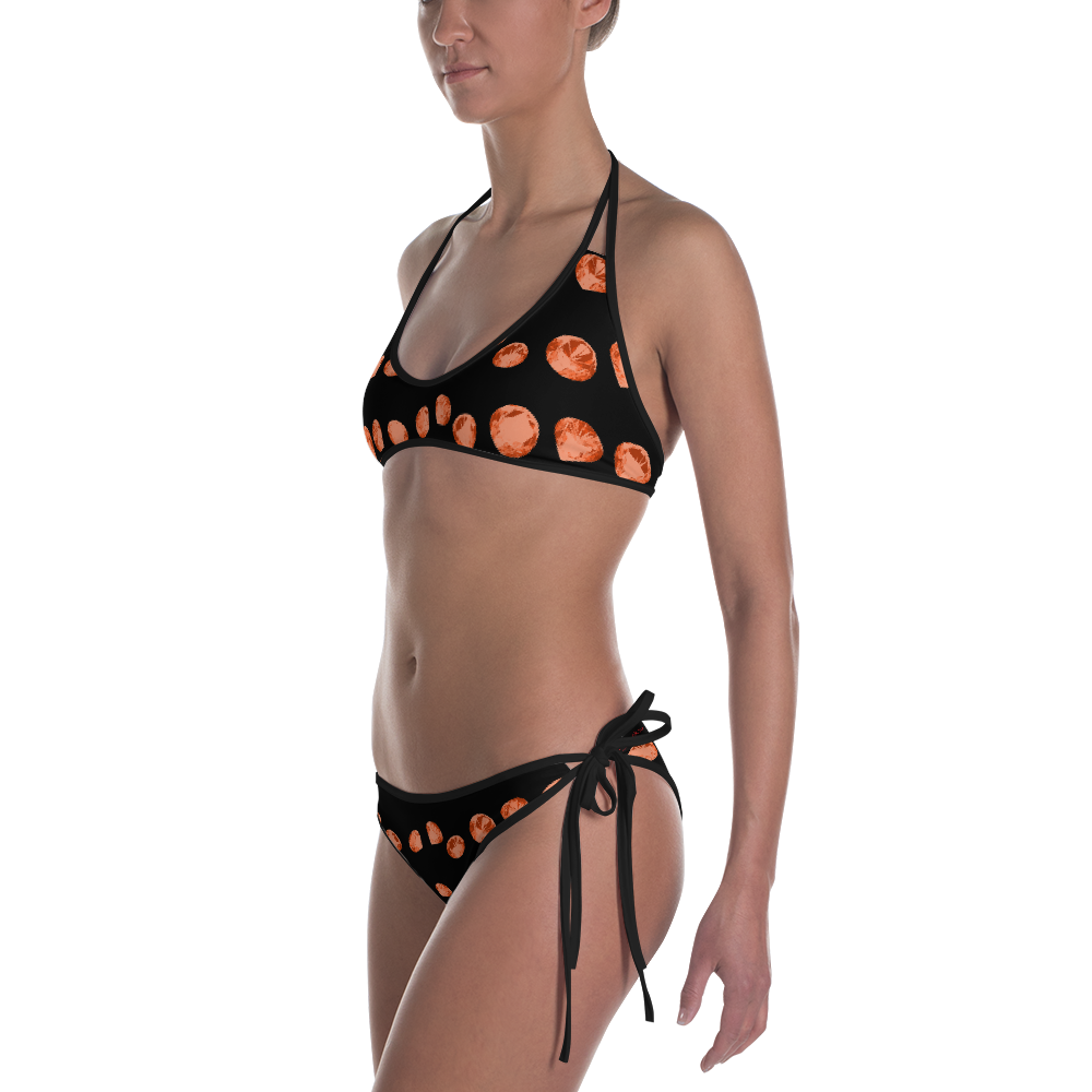 Orange Diamonds Bikini ByJackson