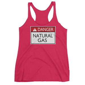 Danger Natural Gas Women's Racerback Tank By Jackson - ByJackson