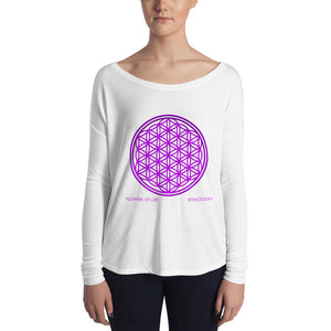 Flower of Life Ladies' Long Sleeve Tee ByJackson
