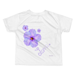 Love in Flowers (Front & Back) T-shirt ByJackson
