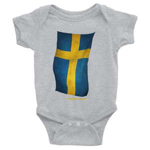 Swedish Flag Infant Bodysuit ByJackson