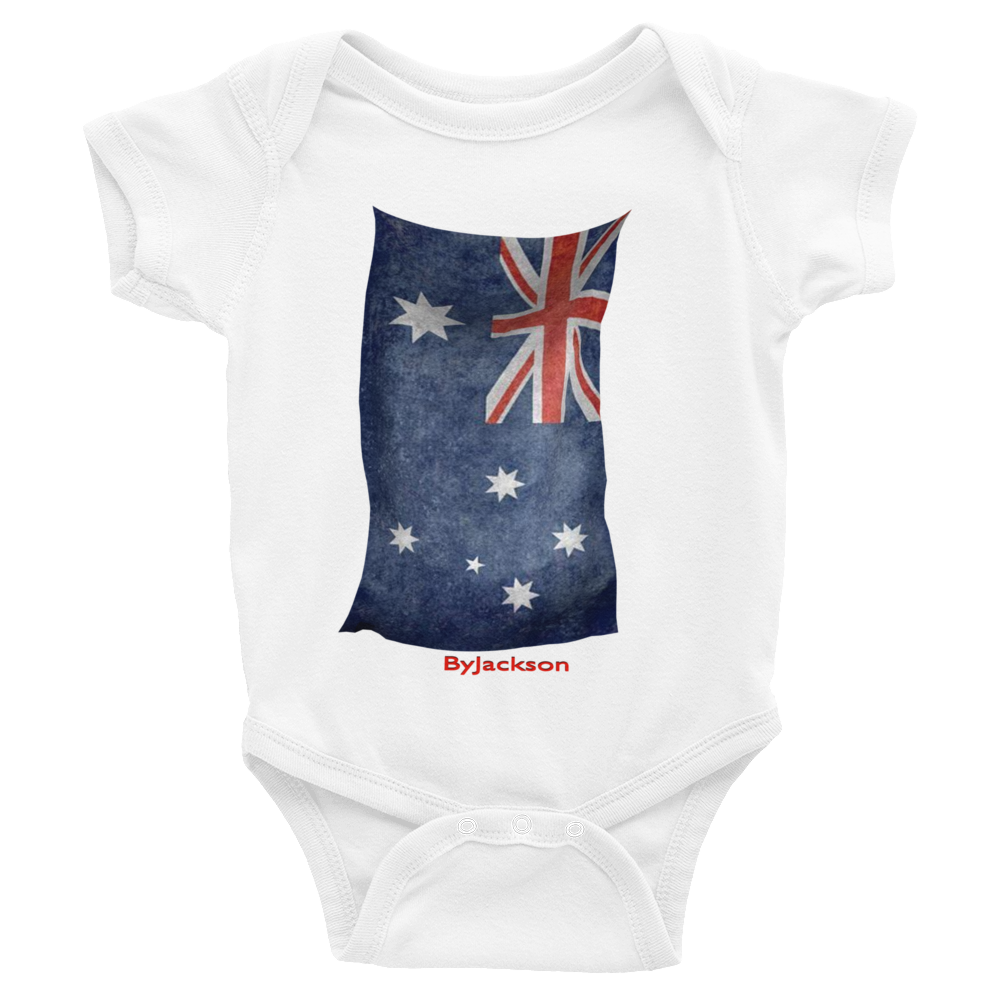 Australian Flag Infant Bodysuit ByJackson