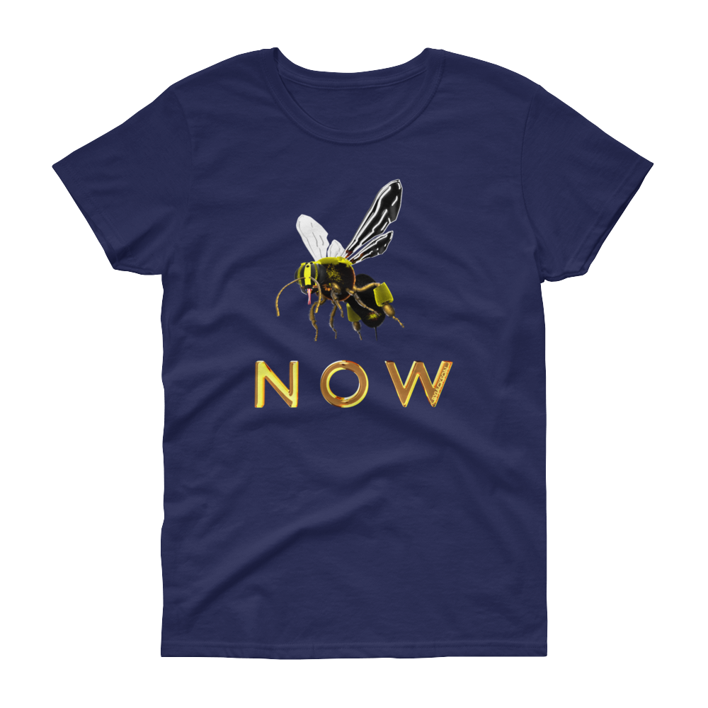 Bee Now Women's short sleeve t-shirt ByJackson