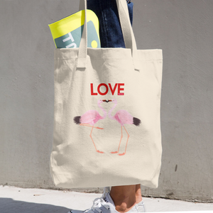 Love Cotton Tote Bag ByJackson