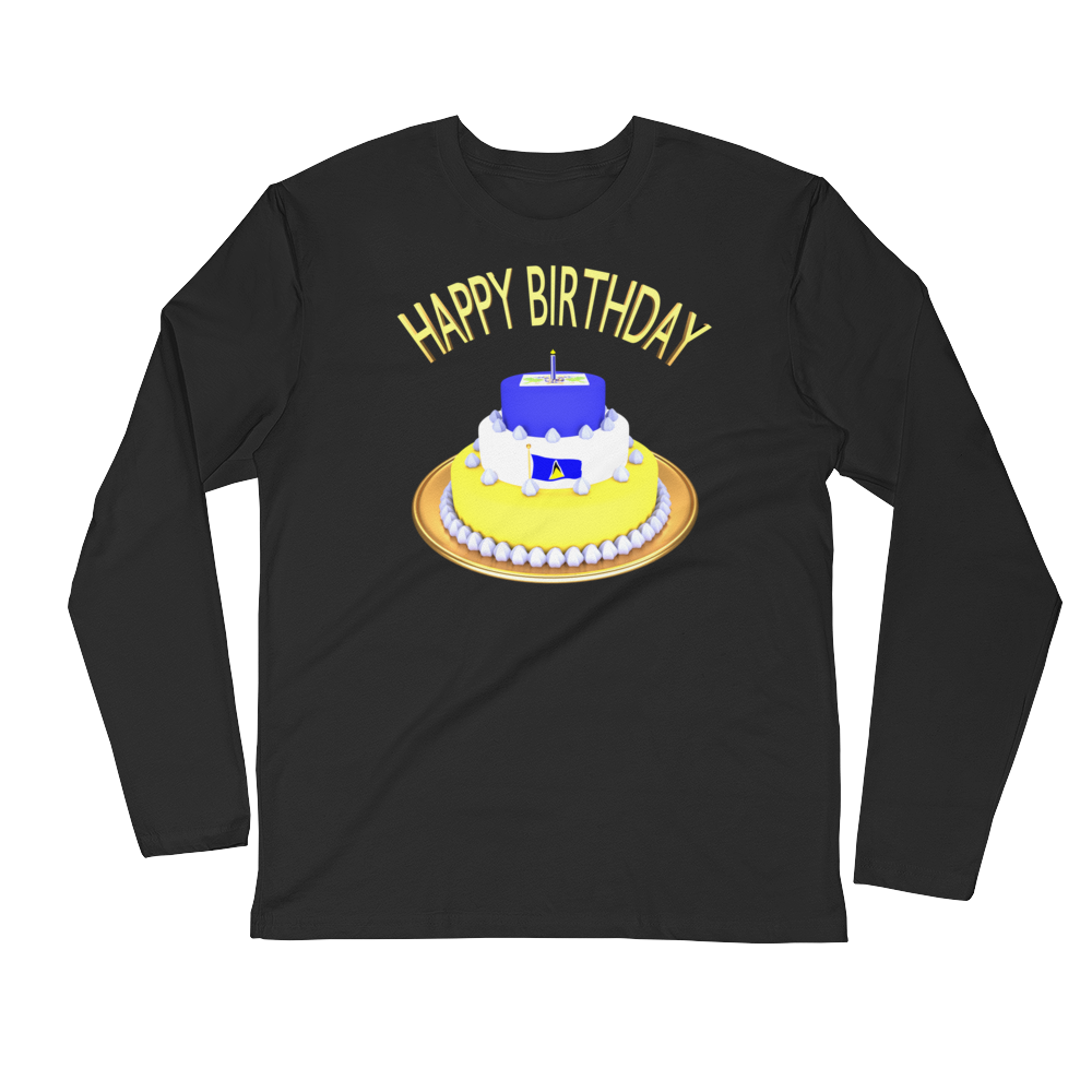 Custom Birthday Long Sleeve Tee Shirt ByJackson - ByJackson