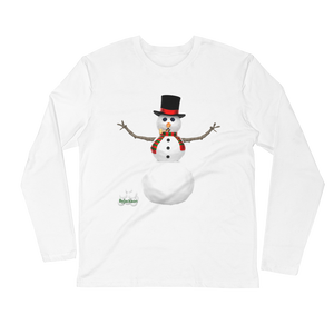 Snowman Long Sleeve Fitted Crew ByJackson