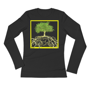 Tree of Life Woman's Long Sleeve Tee Shirt ByJackson - ByJackson