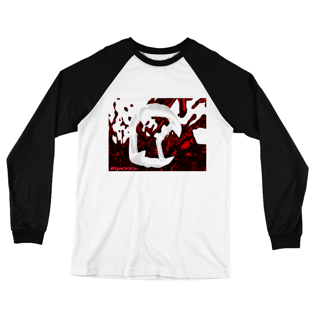 Fangs Long Sleeve Baseball T-Shirt ByJackson