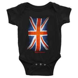 United Kingdom Flag Infant Bodysuit ByJackson