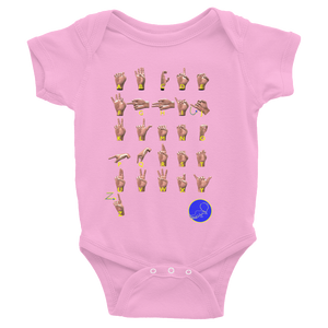 ABC's Sign Language Infant Bodysuit  ByJackson - ByJackson