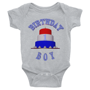 1st HAPPY BIRTHDAY BOY Bodysuit ByJackson - ByJackson