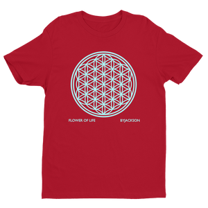 FLOWER OF LIFE Short Sleeve T-shirt ByJackson
