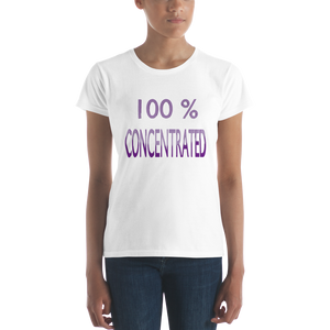 100% Women's short sleeve t-shirt ByJackson