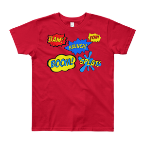 Bam Pow Youth Short Sleeve Tee Shirt ByJackson - ByJackson
