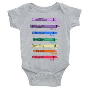 Colors Infant Bodysuit ByJackson.