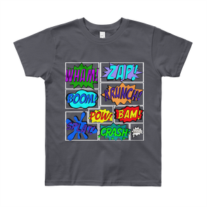 Comic Youth Short Sleeve Tee Shirt ByJackson - ByJackson