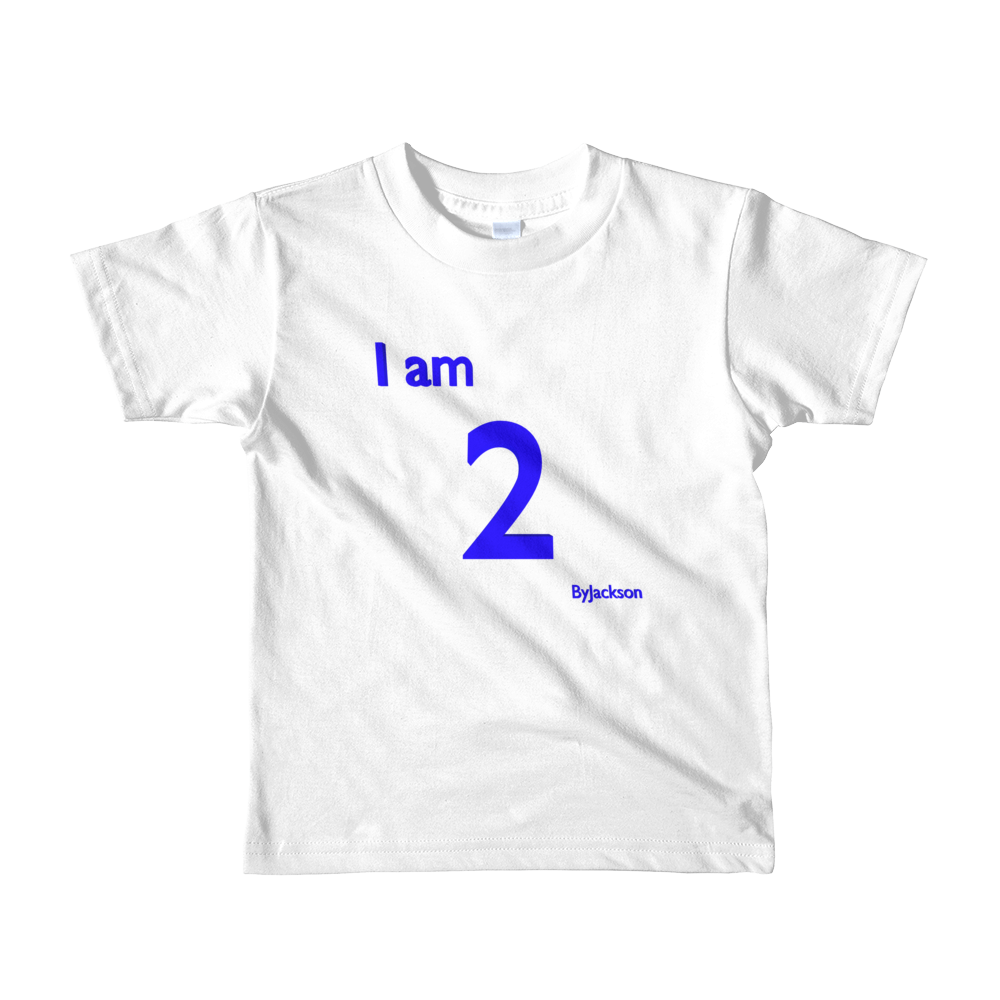 I AM 2 kids t-shirt ByJackson