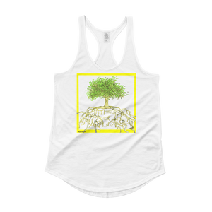 Tree of Life Woman's Shirttail Tank  ByJackson - ByJackson