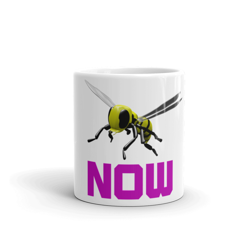 Bee Now Mug made in the USA ByJackson - ByJackson