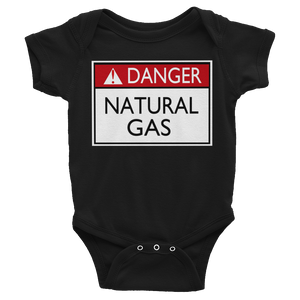 Danger Natural Gas Baby Bodysuit By Jackson - ByJackson