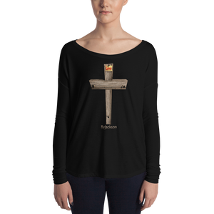 Cross Ladies' Long Sleeve Tee ByJackson