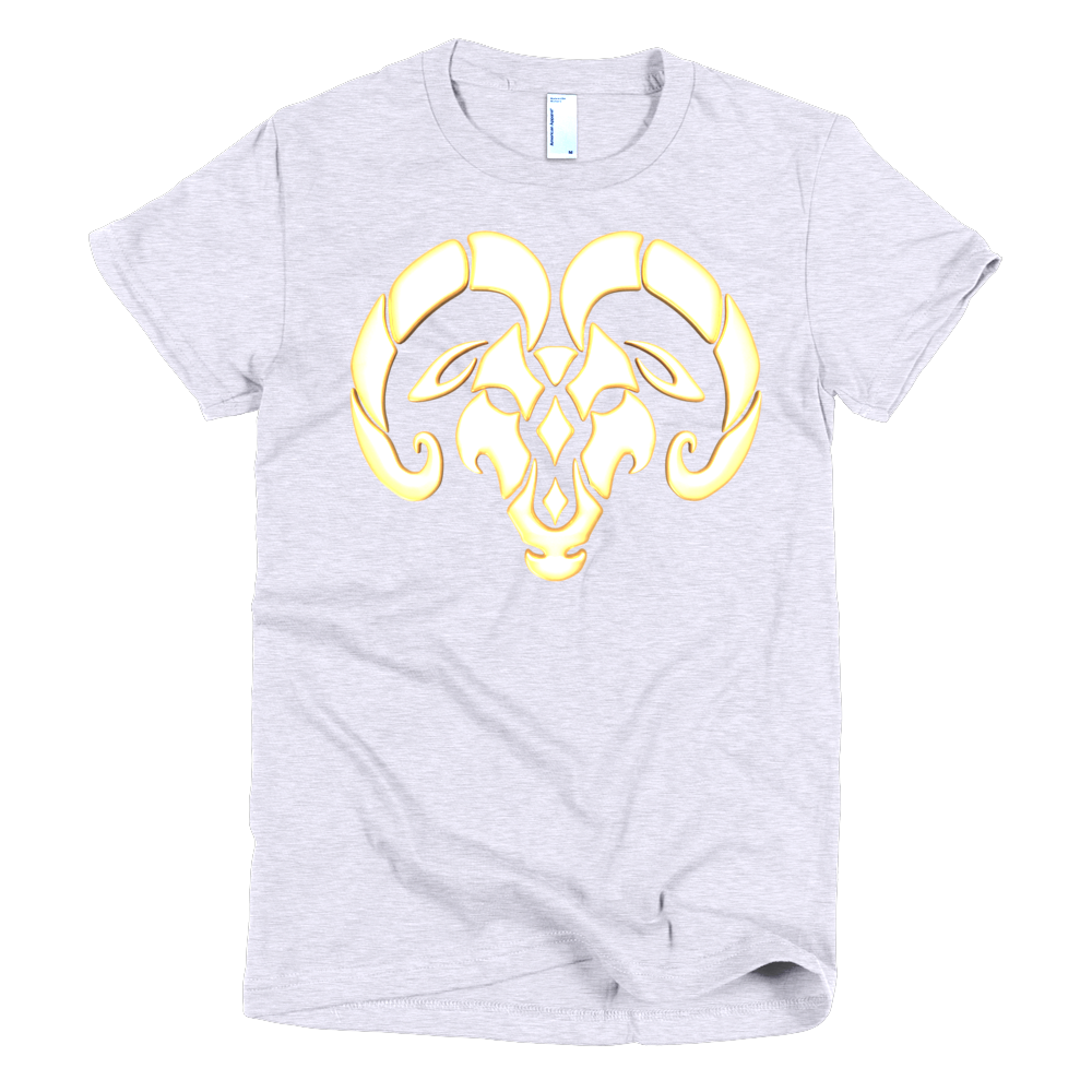 Aries Short sleeve women's Tee Shirt ByJackson