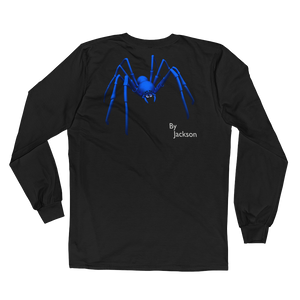 Figure 8 Spider Adult Mens Long Sleeve Tee Shirt (FRONT&BACK) ByJackson - ByJackson