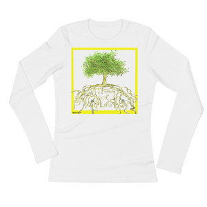 Tree of Life Woman's Long Sleeve Tee Shirt ByJackson