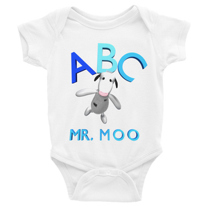 ABC Mr.Moo Infant Bodysuit ByJackson. - ByJackson