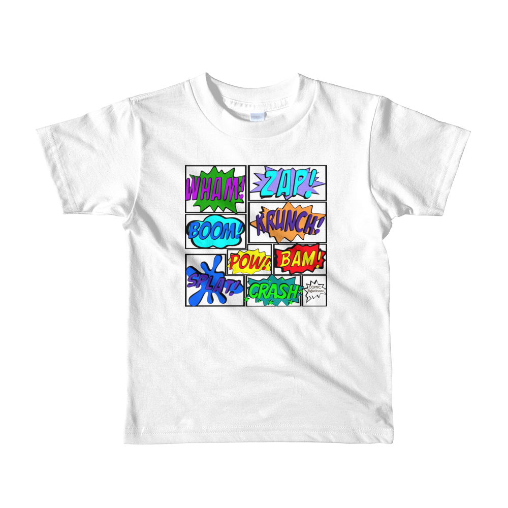 Comic Tee Shirt with outline ByJackson - ByJackson