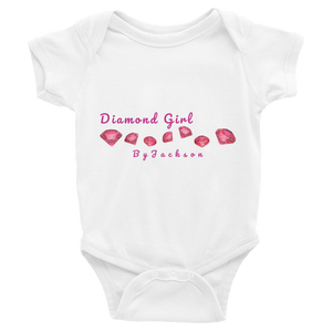 Diamond Girl Baby Bodysuit ByJackson
