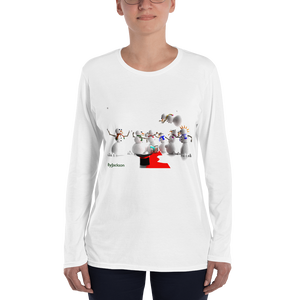 Battle Field Ladies' Long Sleeve T-Shirt ByJackson